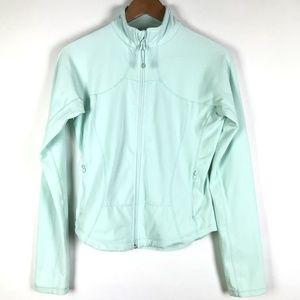 Lululemon Athletica Aqua Blue Shape Jacket Size 8